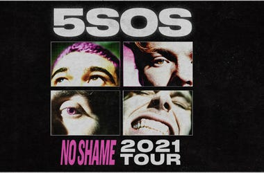 See 5 SECONDS OF SUMMER on their NO SHAME 2021 Tour on May 27, 2021, at The Met Philadelphia.