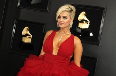 Bebe Rexha. 61st Annual GRAMMY Awards held at Staples Center