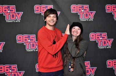 Louis Tomlinson Meet & Greet Photos - 96.5 TDY Philadelphia