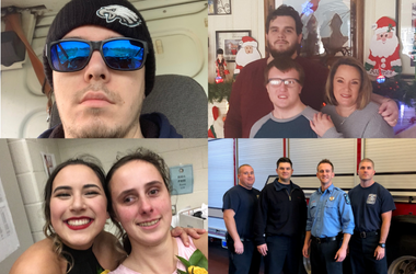 The Essential Humans, 3.20.20, Madeline, Valerie, Christian, Ryan, Sam, and the Mt. Laurel Fire Department, TheEssentialHumans.com #TheEssentialHumans