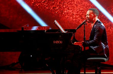 John Legend performs onstage at 'Q 85: A Musical Celebration for Quincy Jones'