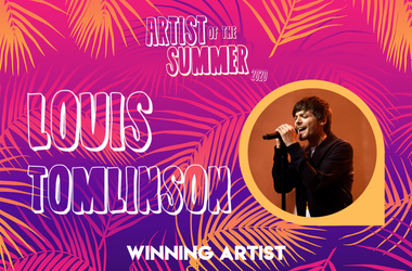 2020 Artist of the Summer WINNER... Louis Tomlinson