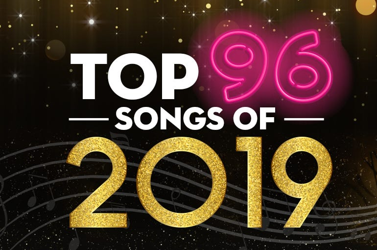 The 96.5 TDY Top 96 Songs of 2019 countdown philly philadelphia artists songs music
