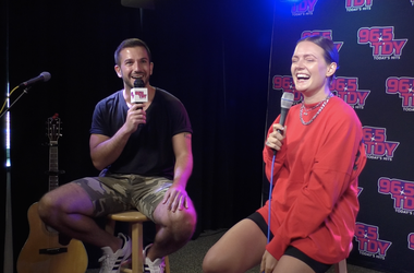 "Tove Lo Talks New Album & Music, 'Sunshine Kitty,' ""Glad He's Gone,"" Plus How She Gets Inspired To Write Music And More at the 96.5 TDY Performance Lounge in Philadelphia, PA"