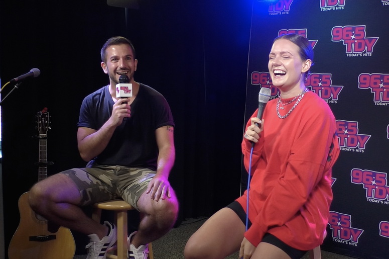 """Tove Lo Talks New Album & Music, 'Sunshine Kitty,' """"Glad He's Gone,"""" Plus How She Gets Inspired To Write Music And More at the 96.5 TDY Performance Lounge in Philadelphia, PA"""