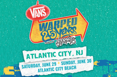 the 25 Years of the Vans Warped Tour at the Atlantic City Beach on June 29th and 30th 2019 la on air 965 tdy