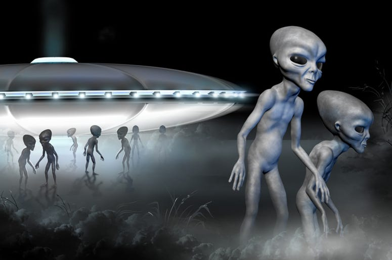 What Songs Are The Area 51 Aliens Listening To?