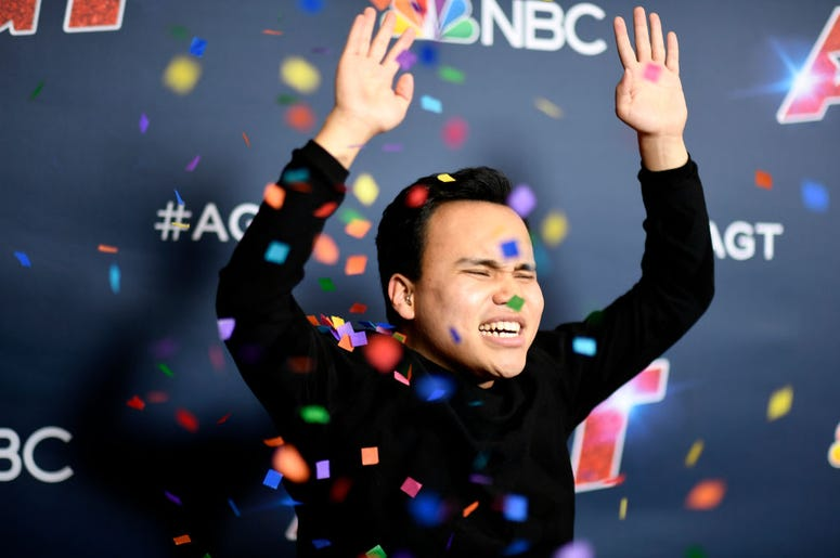 """Kodi Lee attends """"America's Got Talent"""" Season 14 Finale Red Carpet at Dolby Theatre on September 18, 2019 in Hollywood, California."""