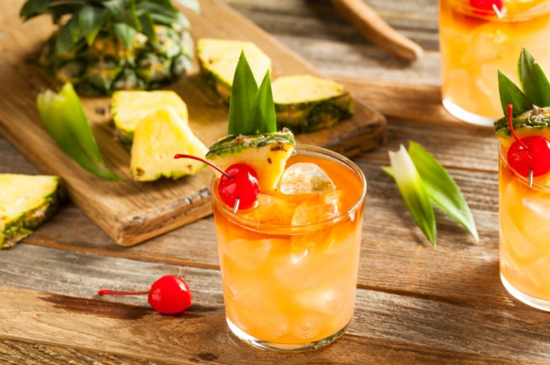 Applebee's August Drink Of The Month is the Mai Tai and Just 1 Dollar