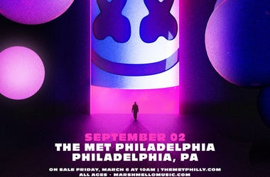 See Marshmello on his 'Joytime Into The Melloverse' tour at The Met Philadelphia on September 2nd!