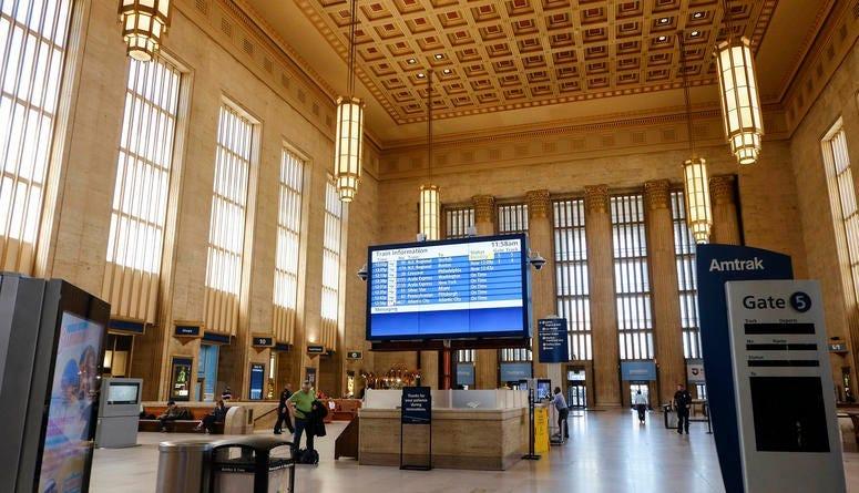 30th street train station Philadelphia