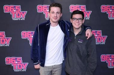 Charlie Puth - Meet And Greet Photos from 96.5 TDY performance in Philadelphia