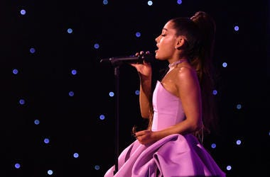 Ariana Grande performs onstage at Billboard Women In Music 2018 on December 6, 2018 in New York City