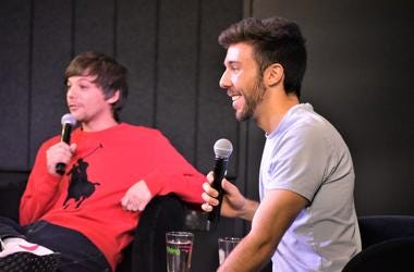 Louis Tomlinson Chats with LA from 96.5 TDY at their Walls Listening Party