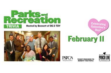 Parks & Rec Trivia benefiting the PSPCA