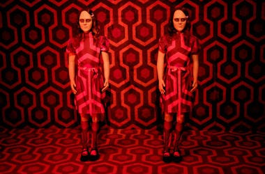 """""""The Shining"""" installation is seen at Ultra Productions and Warner Bros. Consumer Products Special Preview of """"I Like Scary Movies"""" an Interactive Art Installation by Maximillian at The Desmond on April 02, 2019 in Los Angeles, California."""