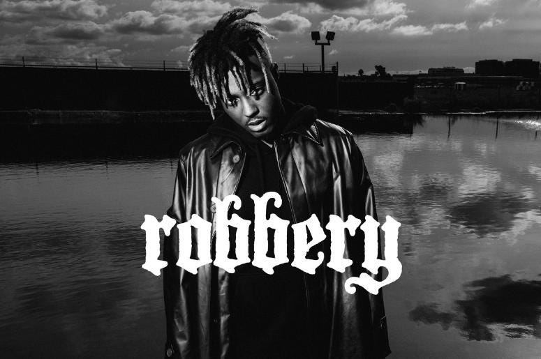 Juice WRLD at the Mann Center in Philadelphia on May 15th robbery 965 tdy la on air