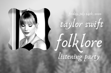 taylor swift folklore listening party on 96.5 TDY