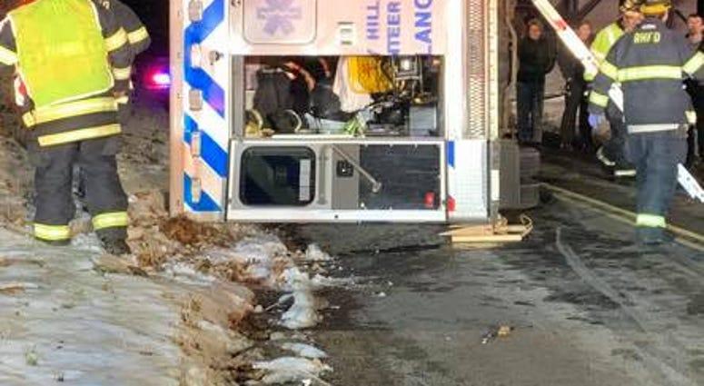 Rocky Hill Ambulance Crash