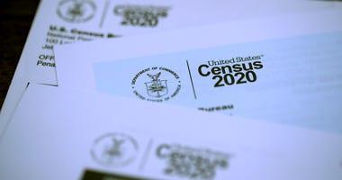 2020 U.S. Census forms