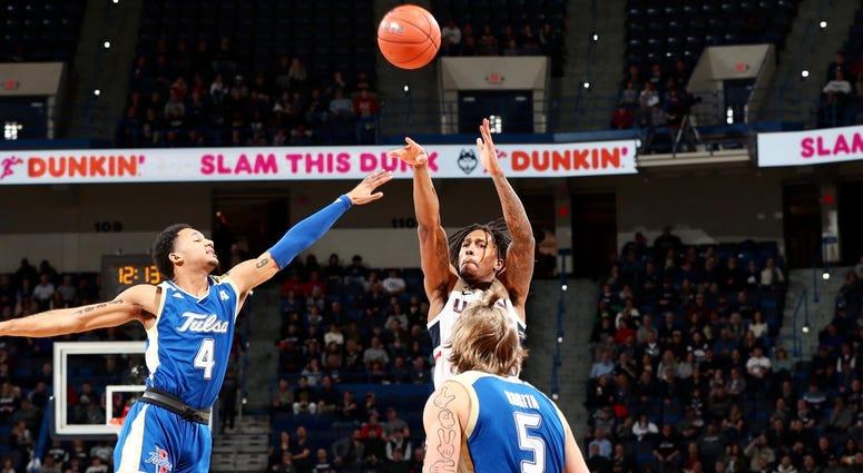 UConn vs. Tulsa