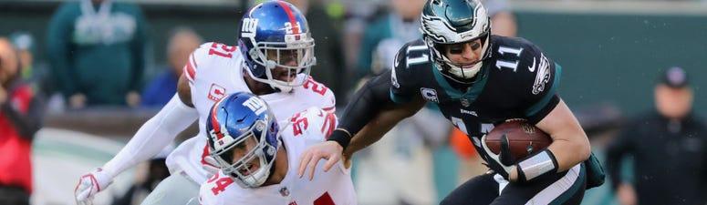 Elliott's 43-yard FG Leads Eagles Past Giants 25-22