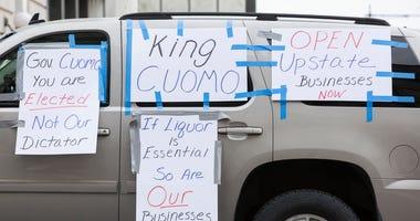 NY Shutdown Protest