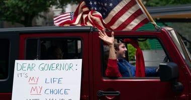 COVID Shutdown Protest
