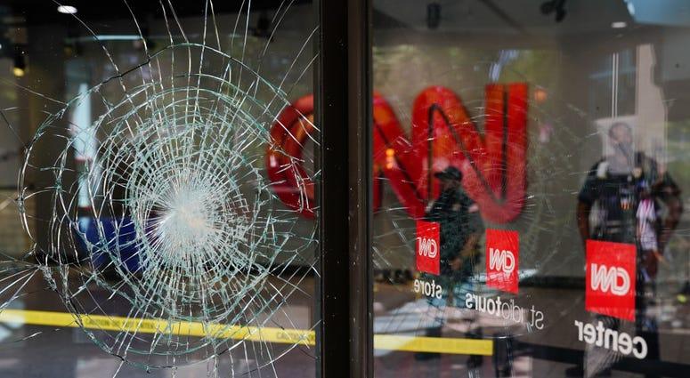 CNN HQ in Atlanta