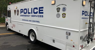 New Haven Police van