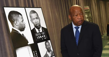 Rep. John Lewis (D/GA) in 2016.