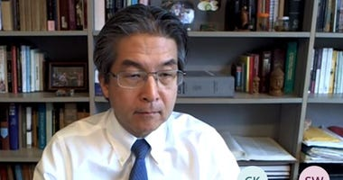 Yale epidemiologist Dr. Albert Ko, co-chair of the Reopen Connecticut Advisory Group, 4/23/20