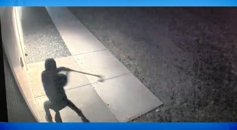 Screenshot of suspect on video surveillance
