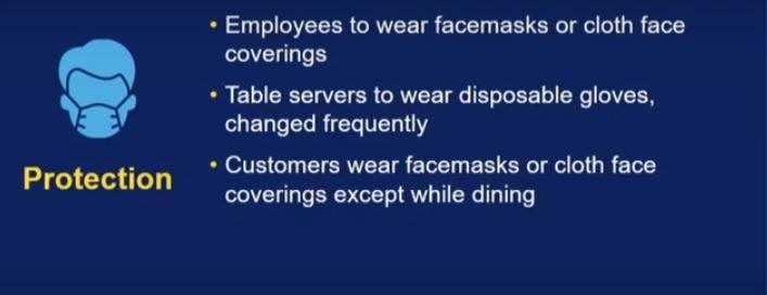 More on restaurant hygiene guidelines