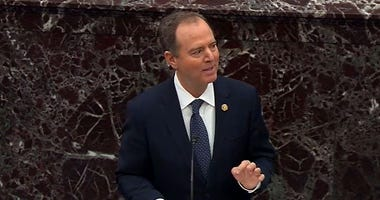 Rep. Adam Schiff (D/CA) in opening arguments at the Impeachment Trial of President Trump, 1/22/20