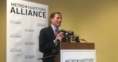 Senator Richard Blumenthal at MetroHartford Alliance