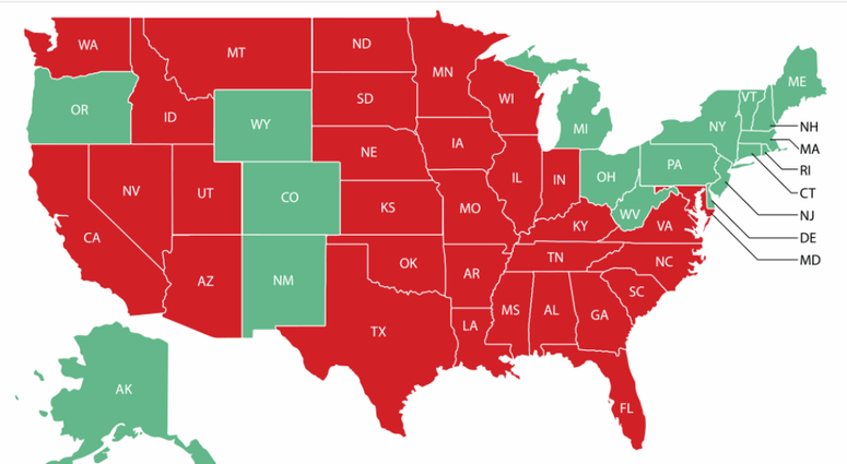 8/11/2020 Travel Advisory Map