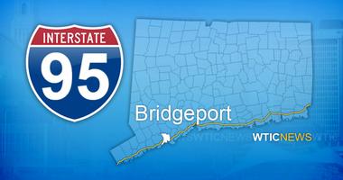 Map of I-95, Bridgeport