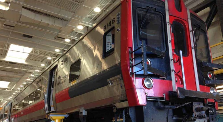 Metro North Railcar