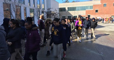 Hartford Magnet Trinity College Academy Walkout