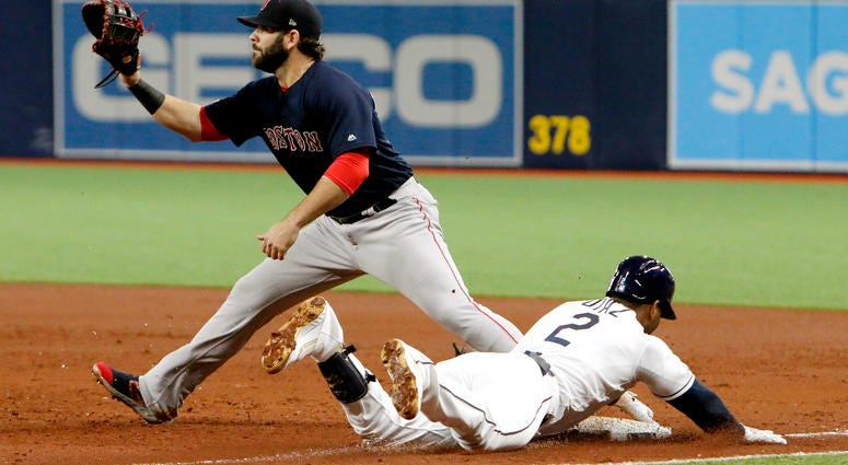 Late Power Surge Carries Sox Past Rays