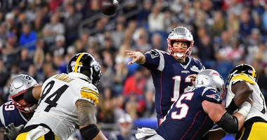 Brady Starts His 20th Season By Beating Steelers 33-3