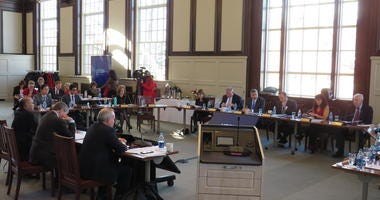 UConn Board of Trustees meets at Wilbur Cross Building, Storrs, 12/11/19