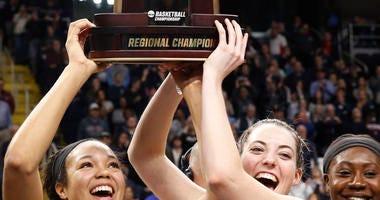 UConn, Notre Dame, Baylor and Oregon Reach Final Four