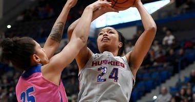UConn's Collier Headlines AP Women's All-America Team