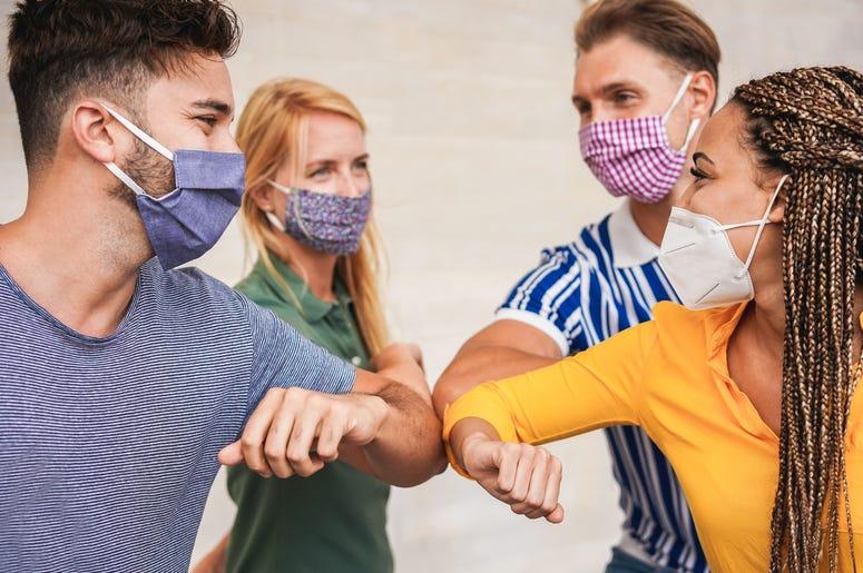 masks people fun