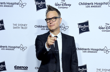 Musician Mark Hoppus arrives at the 2018 From Paris With Love Children's Hospital Los Angeles Gala at L.A. Live Event Deck on October 20, 2018 in Los Angeles, California