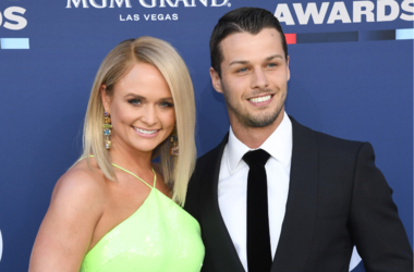 Miranda Lambert and Brendan McLoughlin attend the 54th Academy Of Country Music Awards at MGM Grand Garden Arena on April 07, 2019 in Las Vegas, Nevada