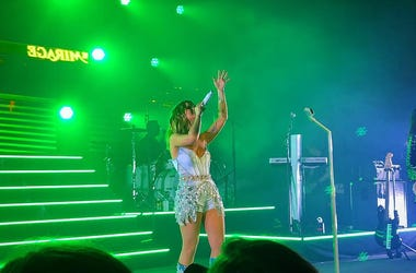 Maren Morris performs at Riviera Theatre in Chicago during night one of her GIRL: The World Tour