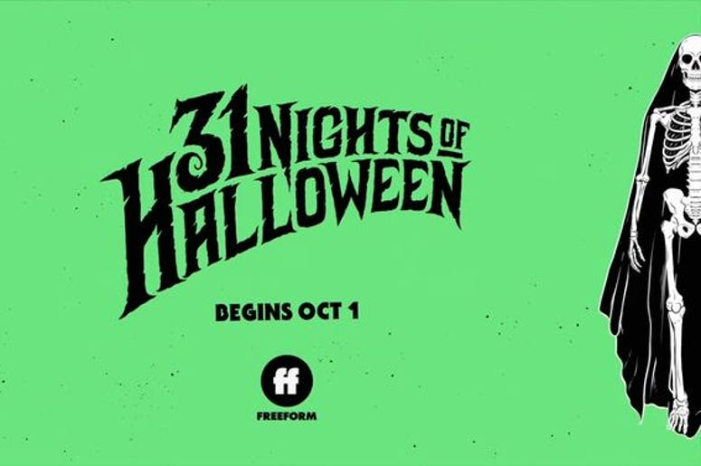 31 Nights of Halloween, Freeform, TV, Movies, October, Fall, Lineup, List